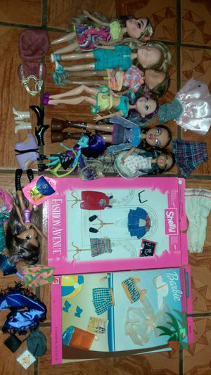 BARBIE doll clothes and dolls Bratz Ever after high for Sale in Los Angeles, CA