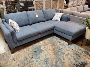 Sectional Sofa, Blue for Sale in Fountain Valley, CA