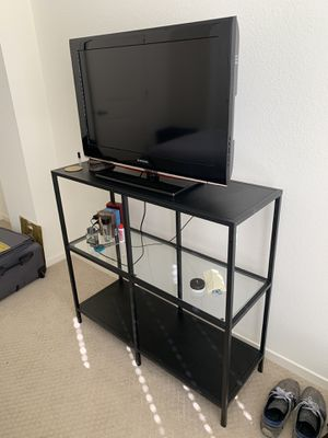 Metal & Glass Console / TV Stand for Sale in San Jose, CA