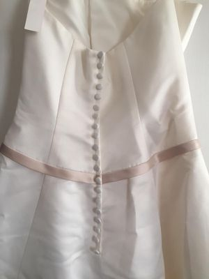 Wedding dress brand new david bridal egg shell color for Sale in Philadelphia, PA