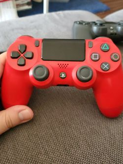 Red Ps4 Controller for Sale in Austin,  TX
