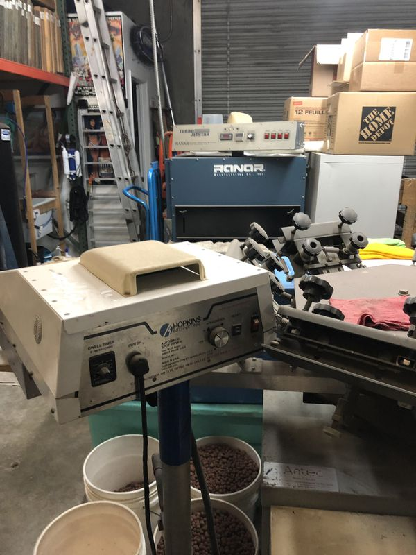 Screenprinting equipment lot!!