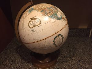 "Vintage 12"" Replogle World Classic Series Desktop Globe Made in USA EUC for Sale in Bethesda, MD"