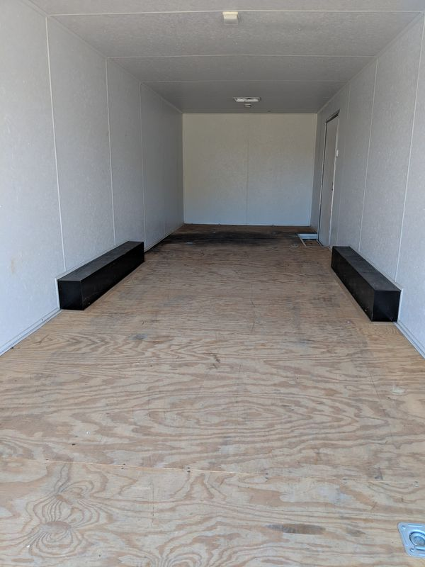 06 Millennium enclosed car trailer