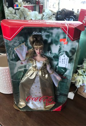 Coca cola collection edition Barbie for Sale in Grand Prairie, TX
