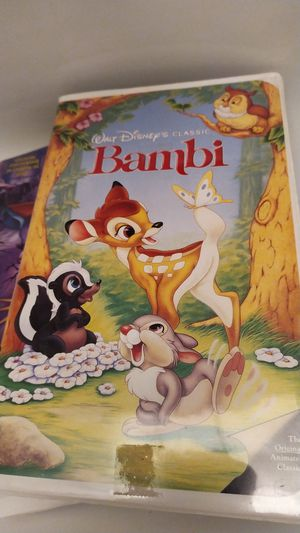 Bambi vhs for Sale in Doral, FL