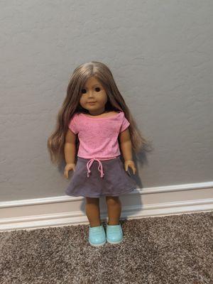 Custom American girl doll (blonde hair and brown eyes) for Sale in Mesa, AZ