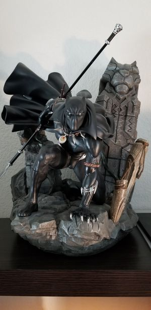 XM Studios Black Panther 1/4 Scale Statue Premium Collectible Marvel Tchalla for Sale in Austin, TX