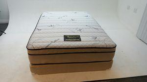 Sleeping beauty Jumbo eurotop full size set for Sale in Bell Gardens, CA