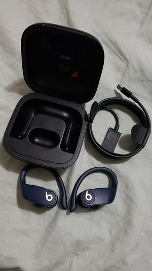 Powerbeats pro blue navy for Sale in Los Angeles, CA