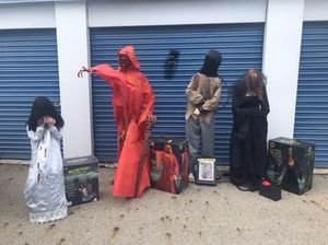 Life Size Animated Halloween Decorations Props for Sale in Worthington, OH