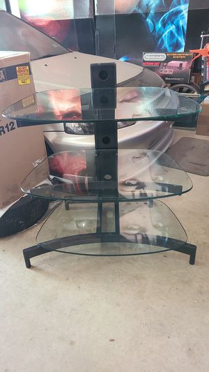 Metal and Glass shelf for Sale in Austin, TX