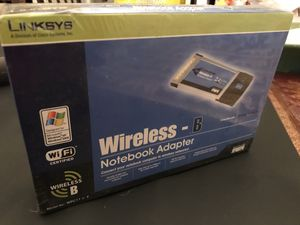 Linksys Wireless -B notebook adapter. Mode WPC11 v.4 for Sale in Pasadena, TX