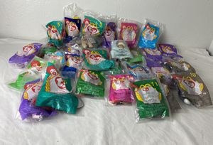 Lot Of 30 McDonald's Ty Beanie Babies ~ 1998-1999 ~ All In Original Packaging for Sale in Pittsburg, CA