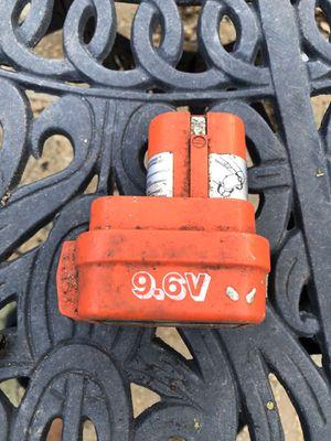 Makita 9.6v battery for Sale in Tracy, CA