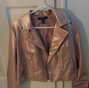 metallic pink jacket (forever 21) for Sale in Gainesville, VA