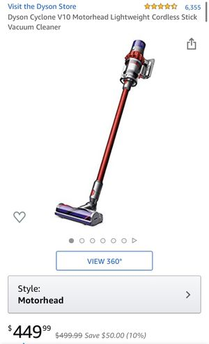 Dyson Cyclone v10 Motorhead - Lightly Used for Sale in Bakersfield, CA