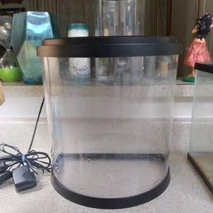 Topfin 2.5 Gallon Fish Tank for Sale in Sacramento, CA