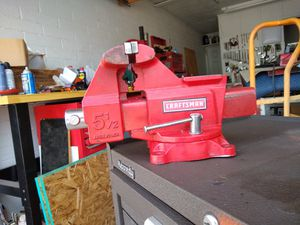 "CRAFTSMAN 5.5"" bench vise for Sale in Tempe, AZ"