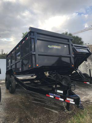 7x14x4 Dump trailer for Sale in Fort Lauderdale, FL