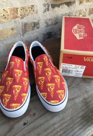 Vans Classic Slip-On Red PizzA NEW!! Men 9 for Sale in Chicago, IL