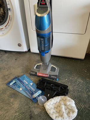 Bissell Symphony steam mop and vacuum cleaner for Sale in Las Vegas, NV
