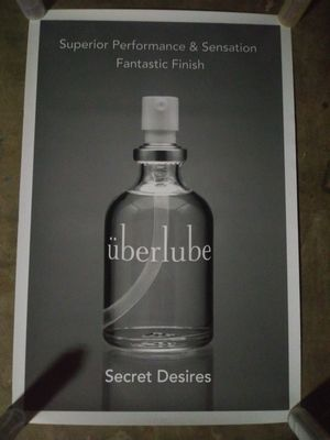 Uberlube Poster for Sale in Lomita, CA