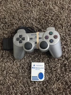 I selling my PS2 Controller and memory card for Sale in South Salt Lake, UT