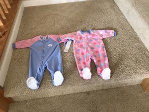3 Baby Girls Fleece Sleepers for Sale in Chula Vista, CA