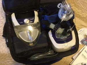RESMED CPAP Machine with heated humidifier/Carrying case Excepting offers for Sale in Las Vegas, NV