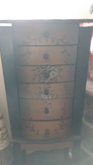 Tall standing jewelry box for Sale in Tacoma, WA