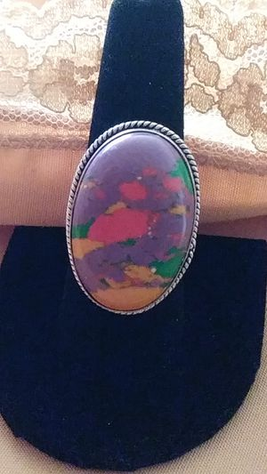 New! Bali Sterling multi Turquoise Ring. Size 8.5 for Sale in Palmetto, FL