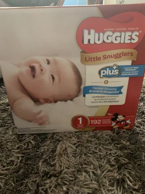 Huggies diapers size 1 for Sale in South Gate, CA