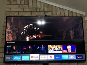 """55"""" Samsung UHD Smart TV 2015 Series With Amazon Cube for Sale in Duncanville, TX"""