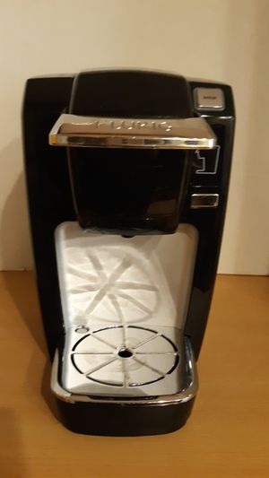 Black Keurig Coffee Maker -Small Great for Dorms/ Room for Sale in Chesapeake, VA