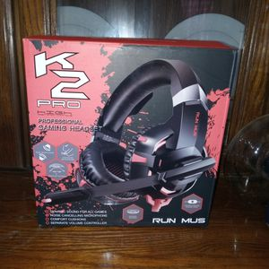 Brand New K2 Pro Professional Gaming Headset! Great Quality.. for Sale in Staunton, VA