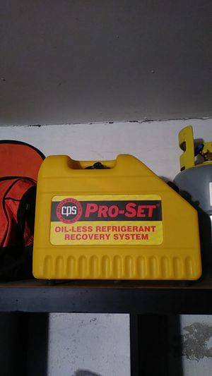 Pro-set Freon retractor set for Sale in South Holland, IL