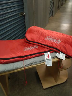 Coleman brother and Slumberjack sleeping bags for Sale in Richmond, VA