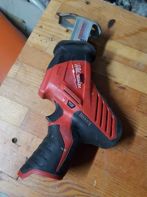 Milwaukee m12 hackzall for Sale in Lacey, WA