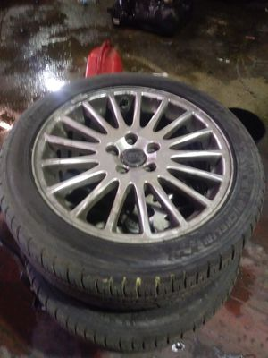 Volvo rims n brand new tires for Sale in Baltimore, MD