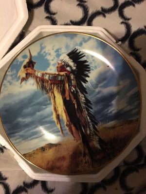 Prayer to the Great Spirit American Indian plate for Sale in Roanoke, VA