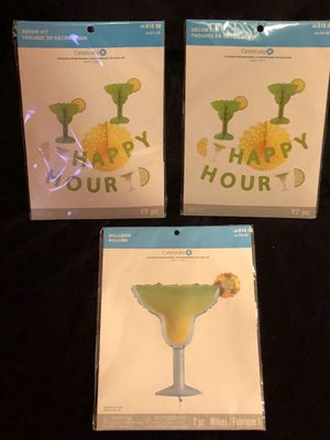 Lime and Yellow Happy Hour Party Decor for Sale in Decatur, GA