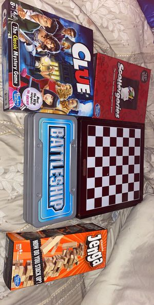 5 board games and 12 puzzles for Sale in Clearwater, FL