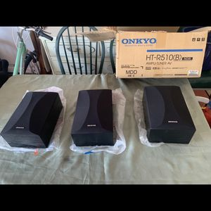 ONKYO Home Theatre Stereo Speakers for Sale in Seal Beach, CA