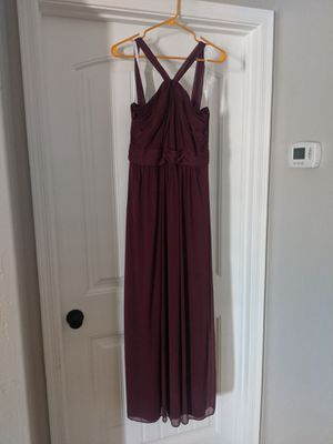 David's Bridal Burgundy Dress sz 8 for Sale in Mesa, AZ