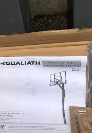 Basketball post & anchor kit (does not include hoop) for Sale in Mercer Island, WA
