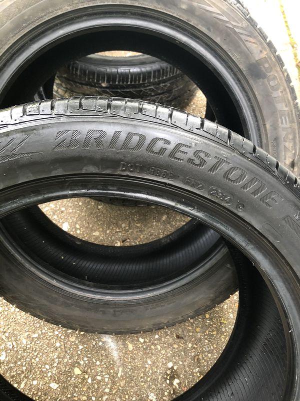 235/45/17 Bridgestone tires