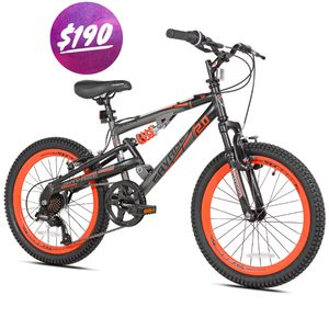 "***Brand New*** BCA 20"" Savage 2.0 Boy's Mountain Bike, Gray/Orange for Sale in Miami, FL"