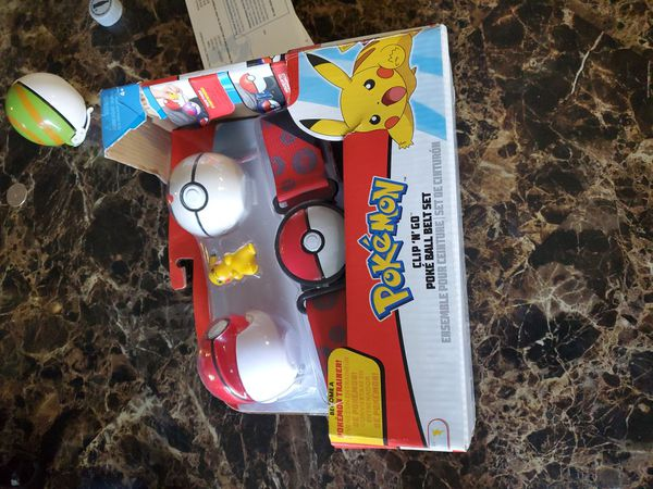 Pokemon Poket Ball Belt Set