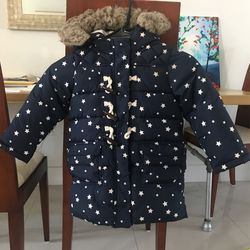 Gap Kids Size 4 Puffer Jacket Parka Toggle Closure for Sale in Hollywood,  FL